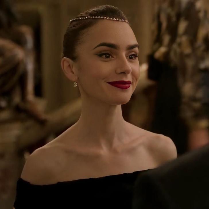 Фото №4 - «Эмили в Париже»: самые красивые макияжи и укладки из сериала