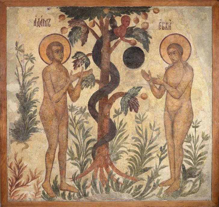 Фото №2 - Экспозиция «Калязин. Фрески затопленного монастыря» в МУАРе