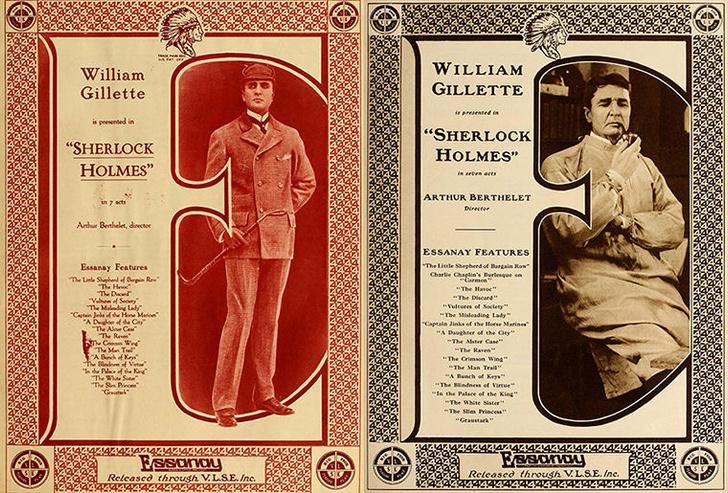 Фото №1 - Во Франции найден фильм о Шерлоке Холмсе 1916 года