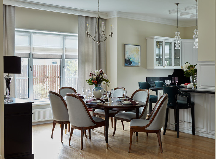 Фото №5 - Уютный и светлый: дуплекс 250 м² на две семьи