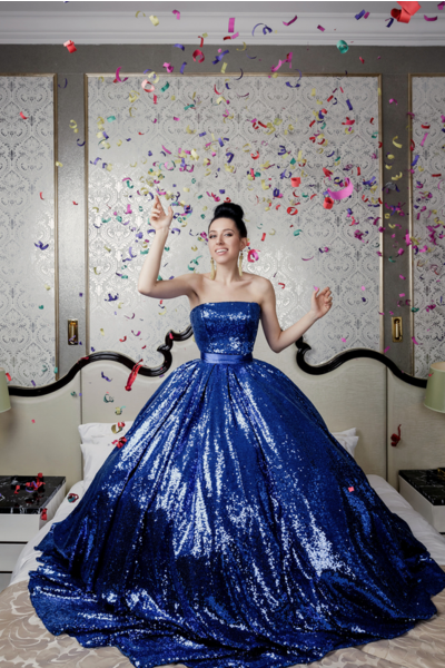 Фото №2 - WOW! Катя Клэп снялась в образе Ким Кардашьян