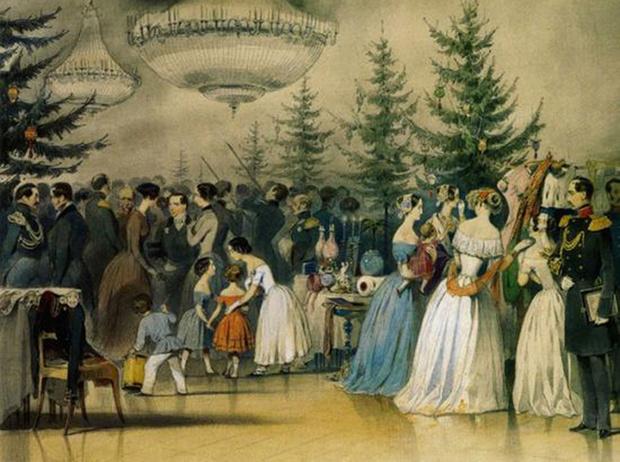 Фото №14 - Как отмечали Рождество в Русской императорской семье