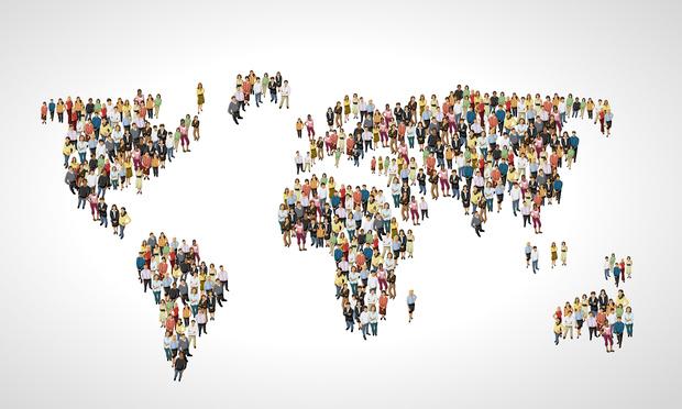 Фото №1 - Как выглядит карта мира без стран с населением больше 100 миллионов человек
