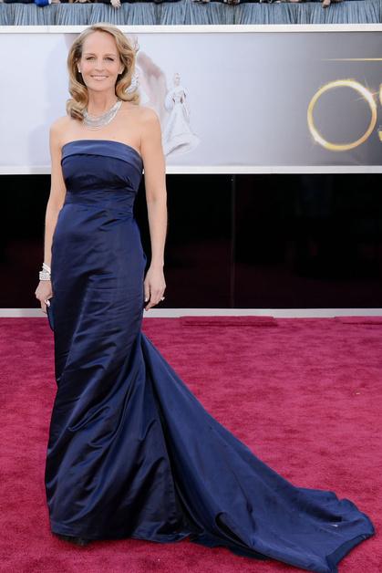 Хелен Хант в платье H&M