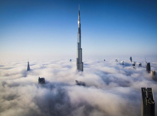 Фото №2 - 7 захватывающих фактов о высотке Бурдж-Халифа