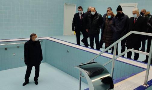 Фото №1 - Фото дна: губернатор Беглов осмотрел новую поликлинику в Приморском районе