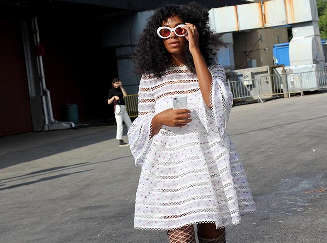 Фото №7 - Неделя моды в Нью-Йорке: streetstyle пятого дня