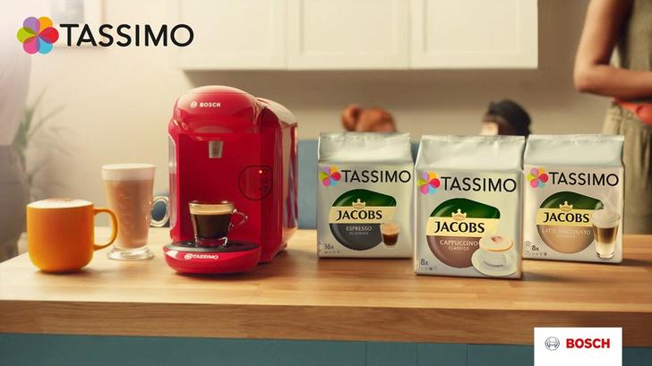 Фото №1 - Новая TASSIMO VIVY II готовит кофе с помощью одной кнопки