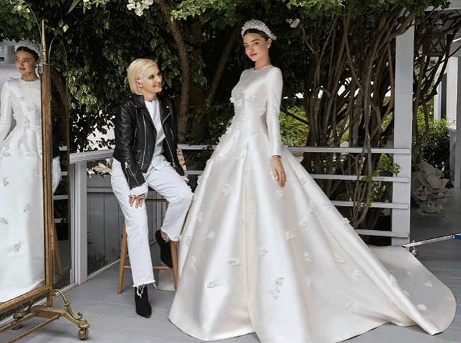 Фото №9 - Свадебное платье Dior на заказ