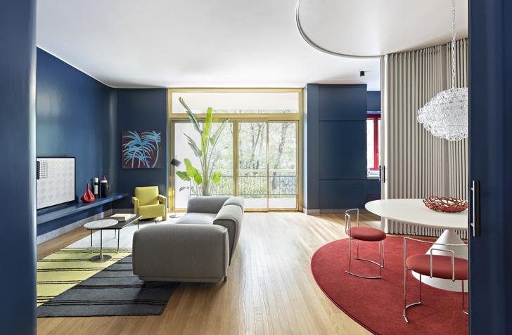 Фото №4 - Интерьер с обложки: квартира в Милане в стиле 1960-х