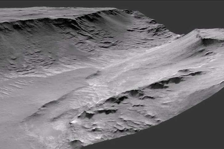 Фото №1 - Ученые подтвердили существование рек на Марсе