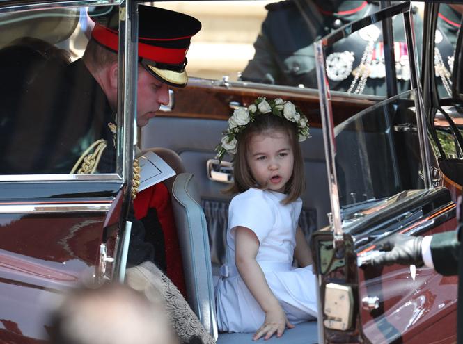 Фото №8 - Подружки и пажи королевских кровей на свадьбах: от принца Джорджа до юной Лилибет