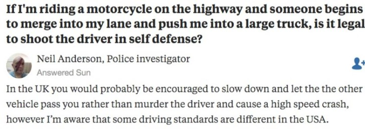 Фото №2 - На Реддите пошутили про поведение на дорогах в разных странах мира. В том числе в России