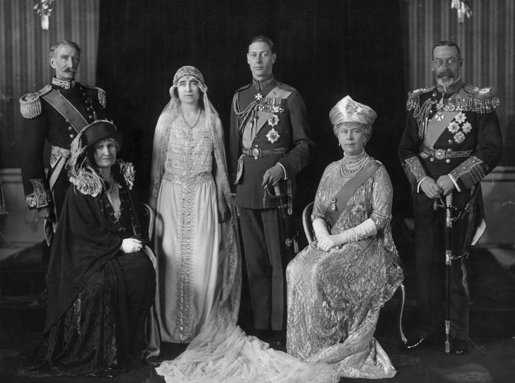 Фото №2 - Принц Берти и леди Елизавета: какой была свадьба родителей Королевы
