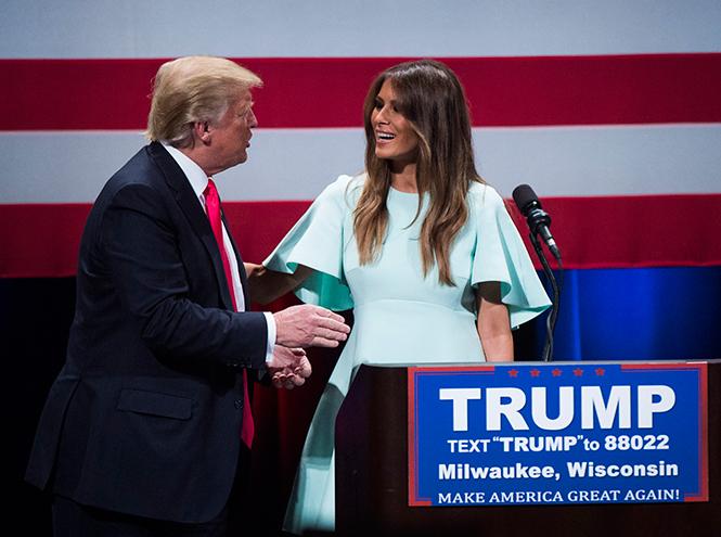 Фото №23 - Стиль Мелании Трамп: фэшн-привычки новой первой леди США