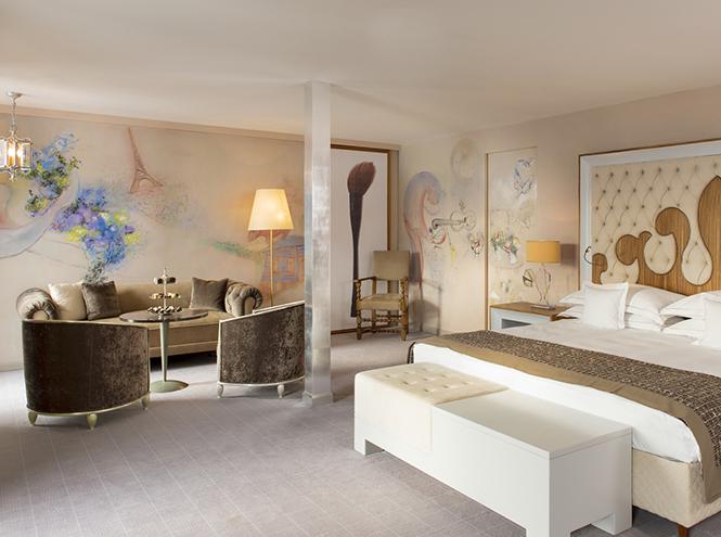 Фото №1 - Carlton Hotel St. Moritz предлагает номера для любителей искусства