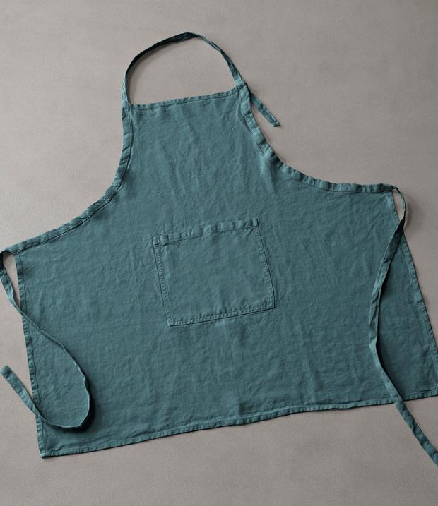 Фото №22 - Модные фартуки и текстиль для кухни