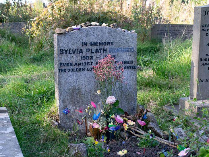 Фото №10 - Под стеклянным колпаком: короткая жизнь и яркая звезда Сильвии Плат