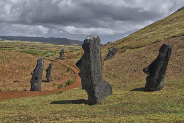 Фото №1 - Ученые наконец объяснили, зачем нужны истуканы на острове Пасхи