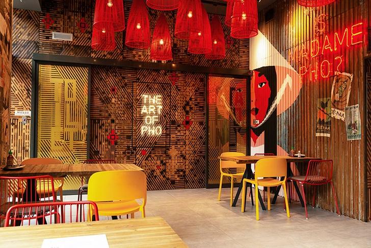 Фото №2 - Вьетнамский ресторан Madame Pho в Будапеште