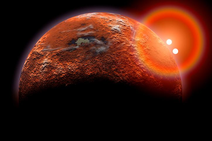 Фото №1 - На экзопланете впервые обнаружили стратосферу