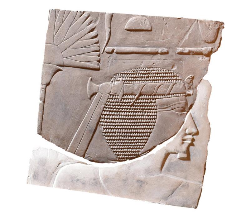 Фото №1 - Археологи обнаружили портрет женщины-фараона