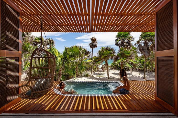 Фото №6 - Бетонный дом на побережье Карибского моря в Тулуме
