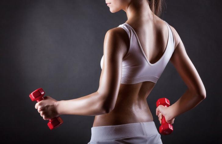 Как уменьшить мышцы рук