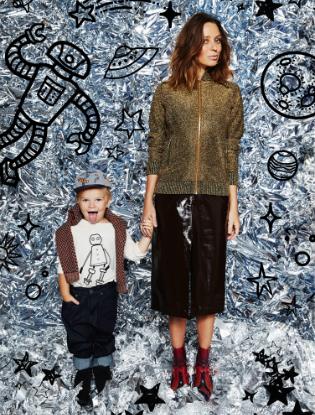 Фото №5 - Звездные мамы и дети в лукбуке H&M Studio Kids
