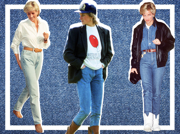 Фото №1 - Принцесса в джинсах: как Диана носила деним