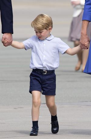 Фото №7 - Мама, ну идем же: принцессе Шарлотте не терпелось покинуть Польшу
