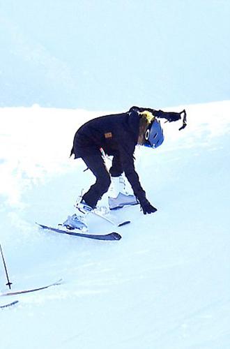 Фото №5 - Лыжню: Анджелина Джоли проводит выходные на горнолыжном курорте