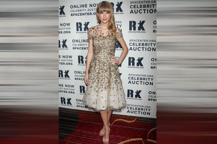 Тейлор Свифт на благотворительном вечере Ripple Of Hope Gala, 2012 год