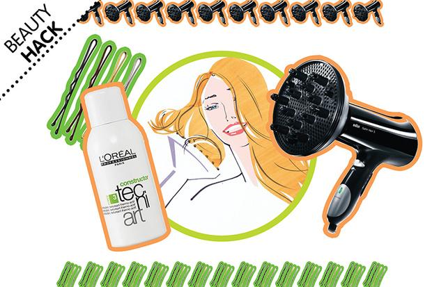 Фото №1 - Beauty Hack: Как быстро сделать локоны