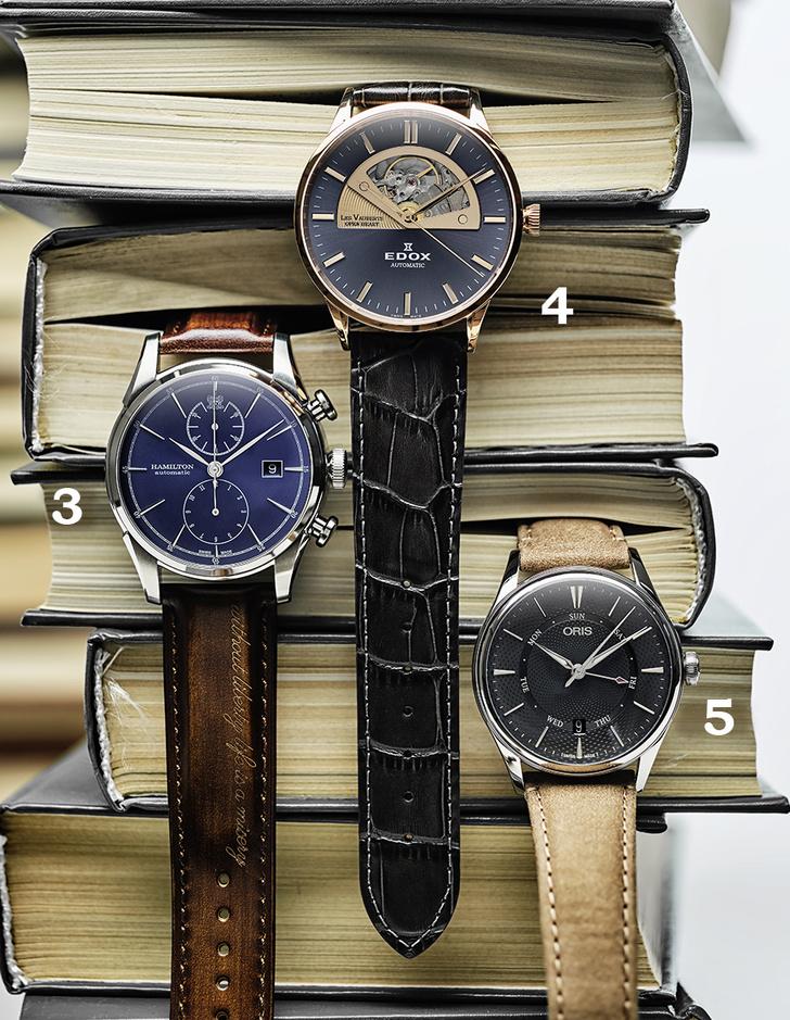 Фото №2 - Игра в классику: 5 наручных часов в классическом стиле