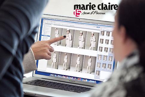 Ксения Собчак для Marie Claire