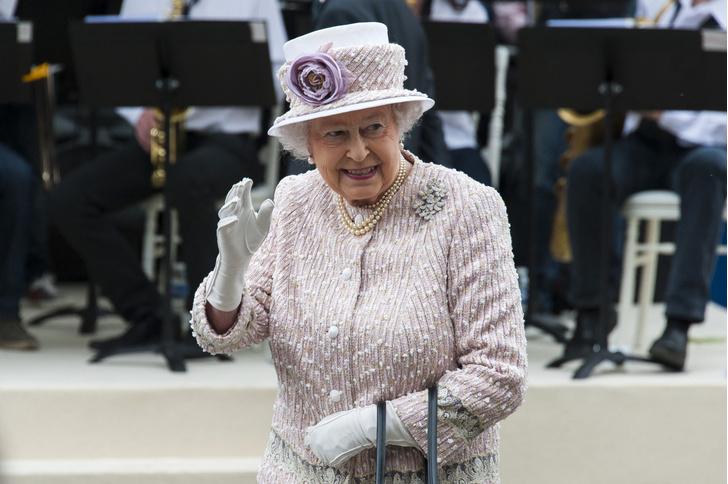 Фото №1 - Королева Великобритании запустила производство джина