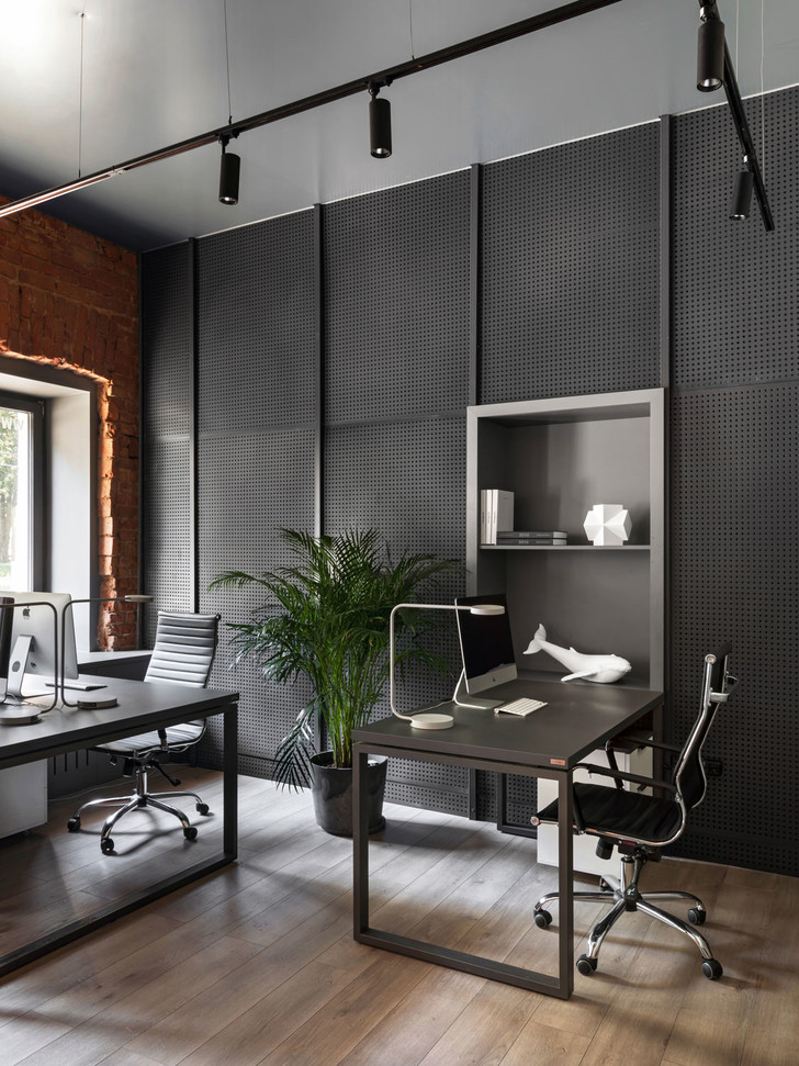 Фото №12 - Современный офис в стиле лофт в Минске