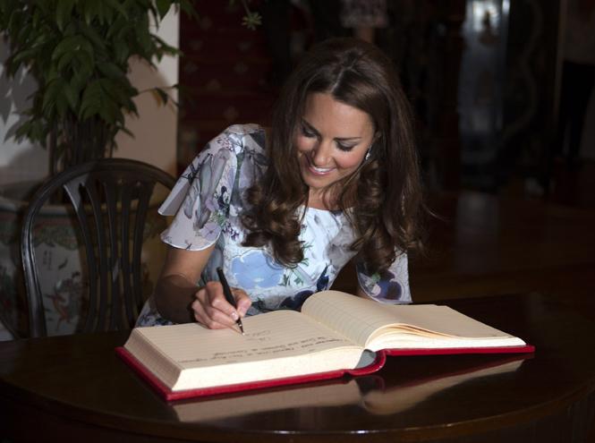 Фото №4 - Что говорят подписи Кейт Миддлтон и принца Уильяма об их браке?