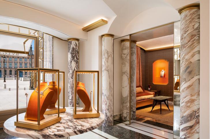 Фото №6 - Новый бутик Bvlgari в Париже: проект Питера Марино