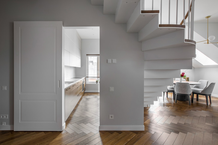 Фото №5 - Двухуровневая квартира в Вильнюсе