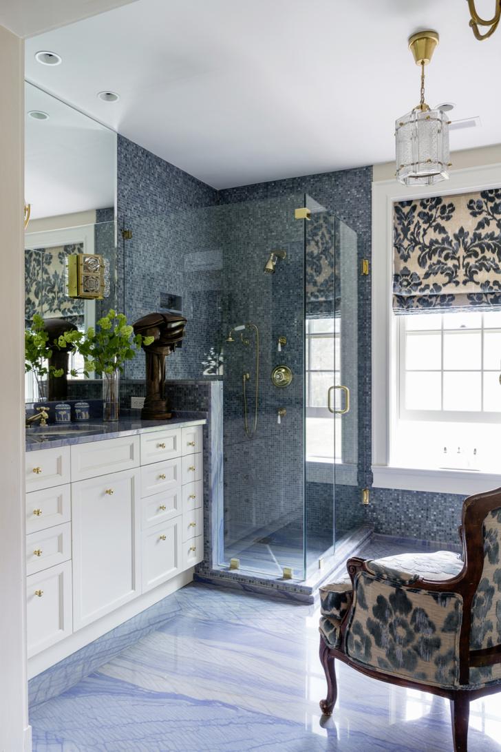 Фото №9 - Ванная комната в классическом стиле: 12 проектов с комментариями дизайнеров