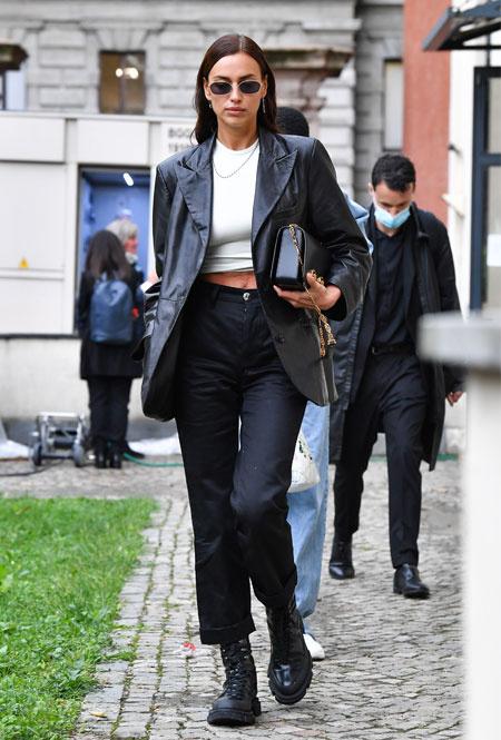 Ирина Шейк в Милане