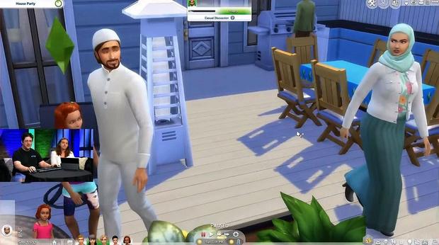 Фото №2 - В новом обновлении Sims 4 игроки смогут поворачивать лестницы и принять ислам