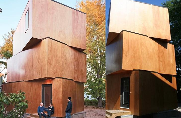 Дом из трех ящиков