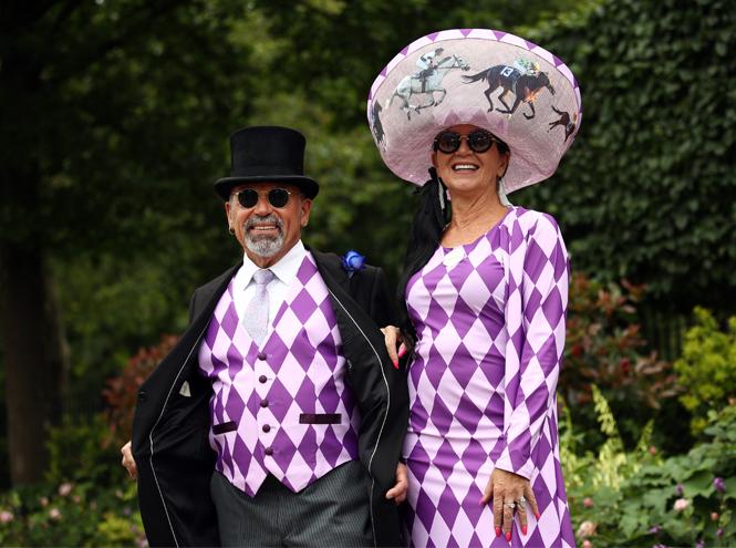 Фото №2 - Лучшие образы на открытии Royal Ascot 2019 (и несколько безумных шляп)