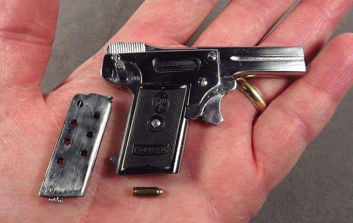 Фото №4 - Не ствол, а пукалка— история самого маленького в мире пистолета