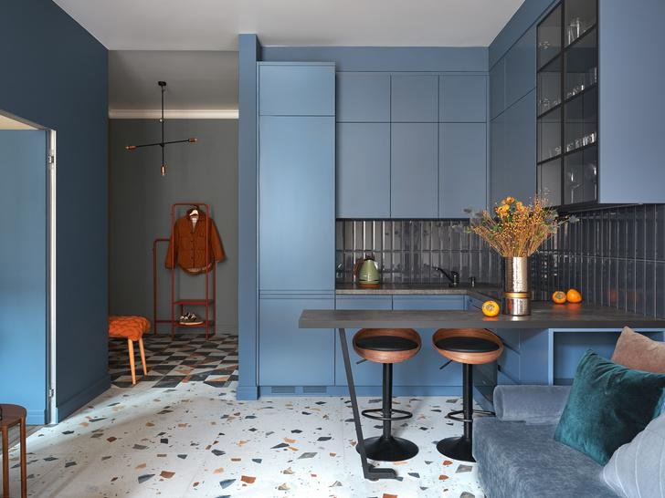 Фото №1 - Яркая квартира 46 м² для сдачи в аренду в Москве