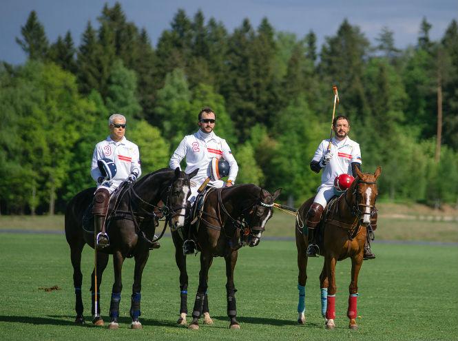 Фото №4 - Россия и Швейцария, спорт и искусство – Triumph Polo Cup