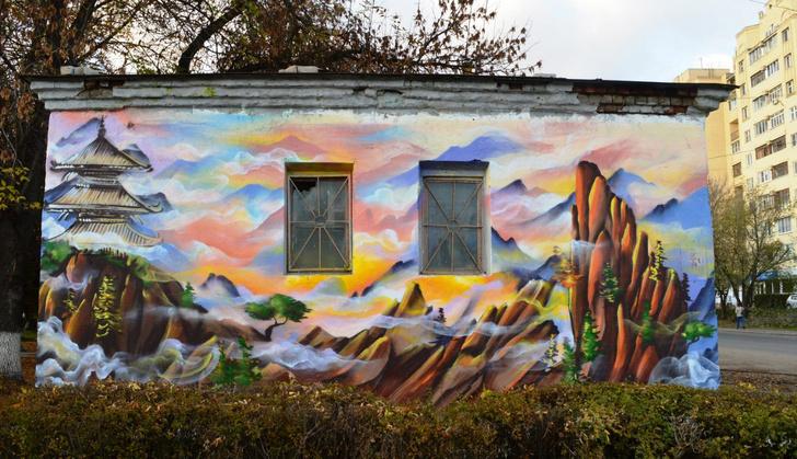 Фото №1 - Самые яркие граффити на улицах Твери